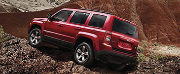 2016 Jeep Patriot Rugged Capabilities