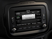 2016 Jeep Renegade Uconnect Infotainment