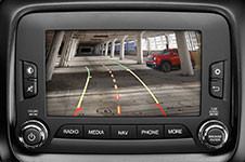 2017 Jeep Renegade Park View Rear Backup Camera