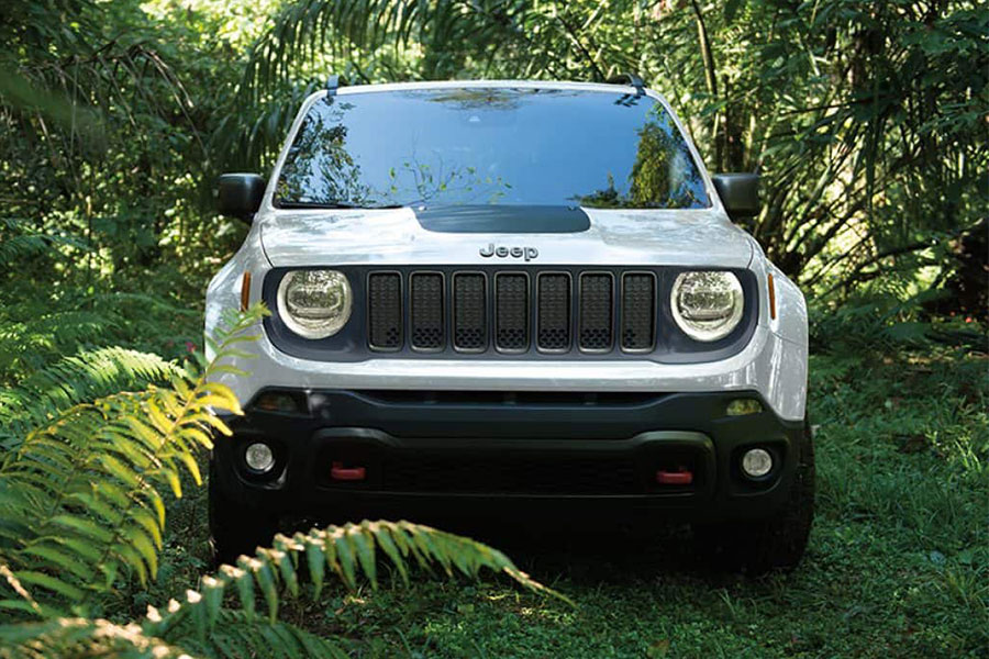 2019 Jeep Renegade Off Roading