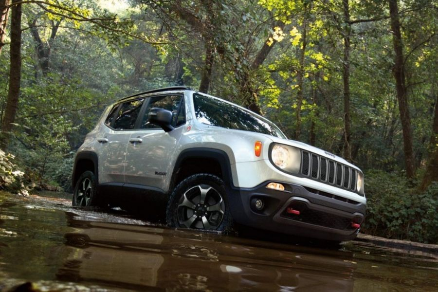 2020 Jeep Renegade Off-Roading