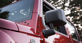 2017 Jeep Wrangler Unlimited Foldable Side Mirrors