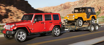 2017 Jeep Wrangler Unlimited Impressive Tow Capacity