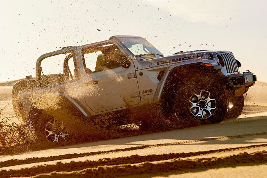 2020 Jeep Wrangler Unlimited Off-Road