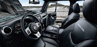 2017 Jeep Wrangler Ergonomic Interior