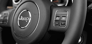 2017 Jeep Wrangler Steering-Wheel-Mounted Controls