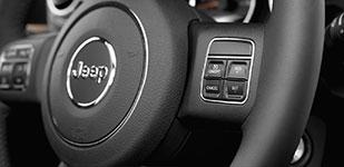 2017 Jeep Wrangler Steering-Wheel-Mounted Controls