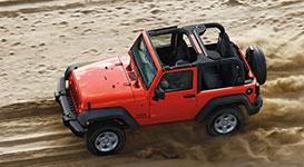 2017 Jeep Wrangler Versatile Body
