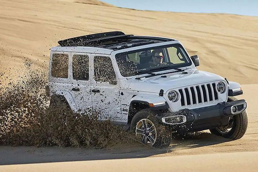 2019 Jeep Wrangler Doing Wrangler Things