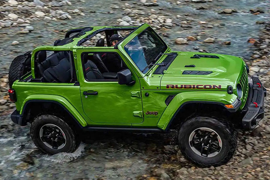 2019 Jeep Wrangler Off Roading
