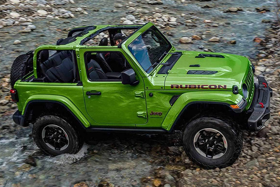 2020 Jeep Wrangler 2 Door Lifted