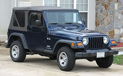 Used Jeep Wrangler Second Generation