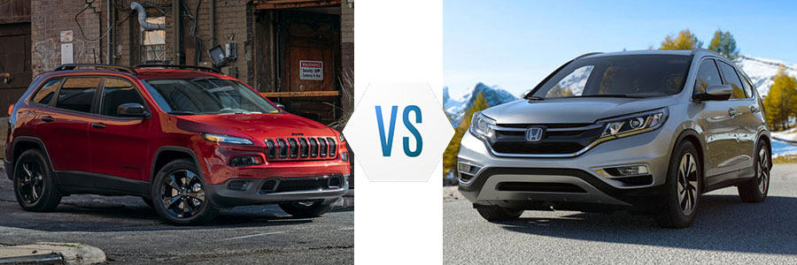 2017 Jeep Cherokee vs Honda CR-V