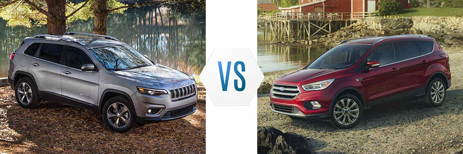 2018 Jeep Cherokee vs Ford Escape