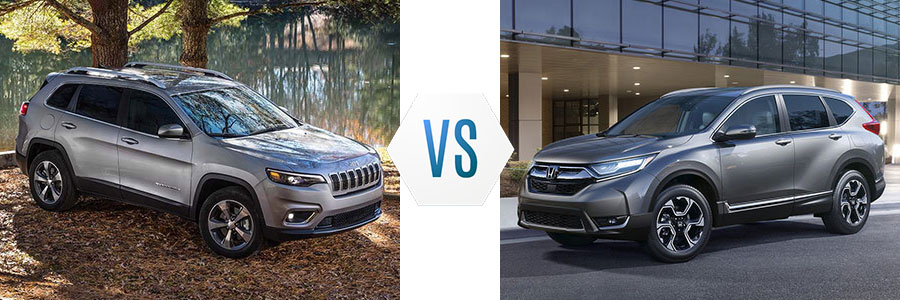 2018 Jeep Cherokee vs Honda CR-V