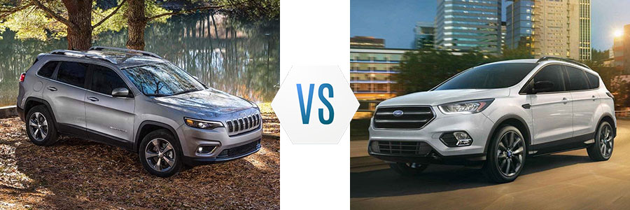 2019 Jeep Cherokee vs Ford Escape