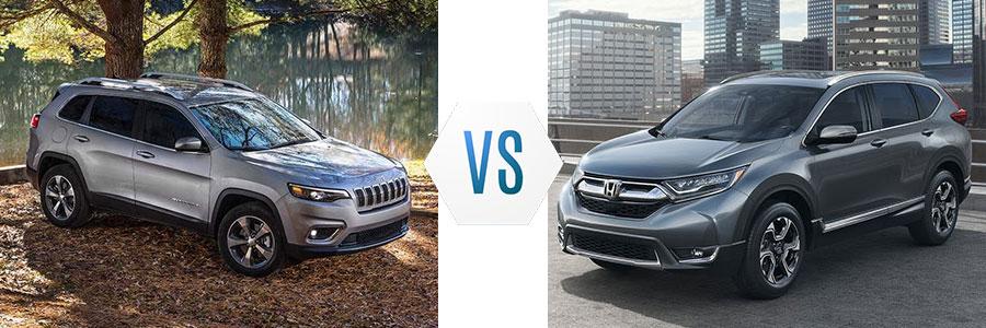 2019 Jeep Cherokee vs Honda CR-V