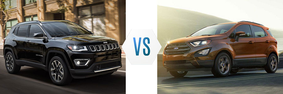 2018 Jeep Compass vs Ford EcoSport