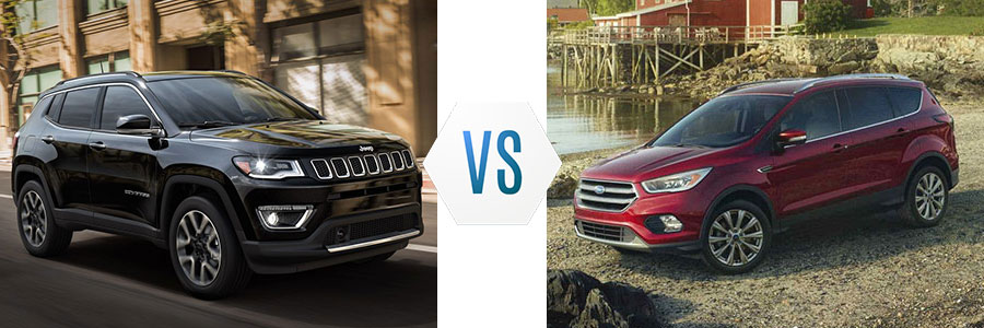 2018 Jeep Compass vs Ford Escape