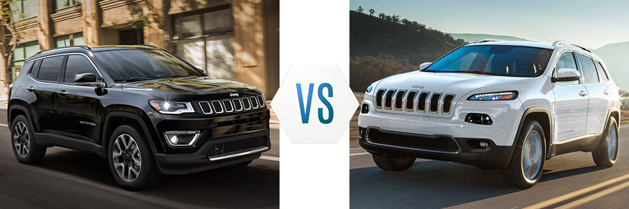 Jeep Compass Vs Jeep Cherokee >> 2018 Jeep Compass Vs Jeep Cherokee Brooks Chrysler Dodge Jeep Ram