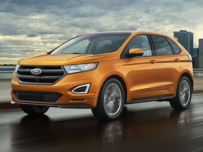 Here The Ford Edge Takes The Lead In Government Crash Tests It Earned A Perfect Five Star Rating For Overall Protection Fords Curve Control Monitors