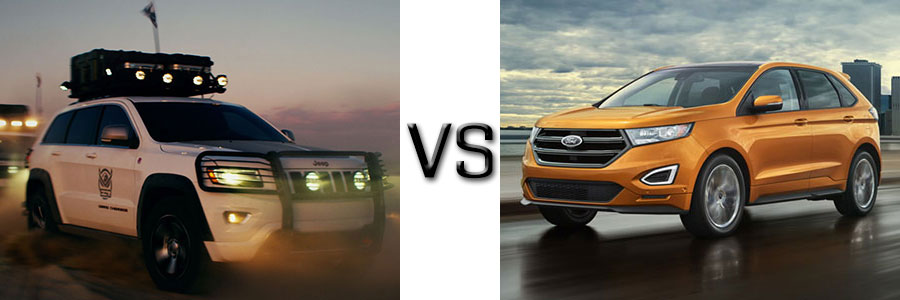 2017 Jeep Grand Cherokee vs Ford Edge
