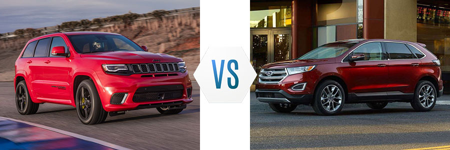 2018 Jeep Grand Cherokee vs Ford Edge
