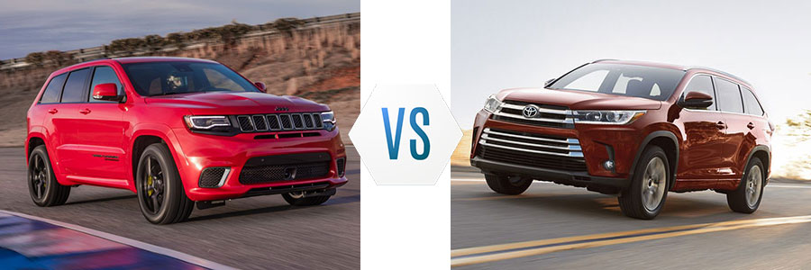 Jeep Cherokee Vs Grand Cherokee >> 2018 Jeep Grand Cherokee Vs Toyota Highlander Brooks