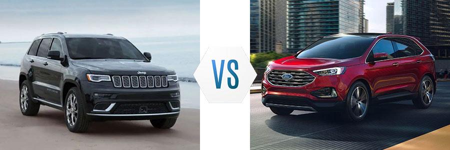 2019 Jeep Grand Cherokee vs Ford Edge
