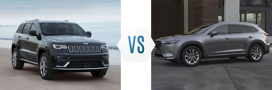 2019 Jeep Grand Cherokee vs Mazda CX-9