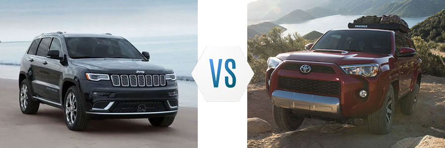 2019 Jeep Grand Cherokee vs Toyota 4Runner