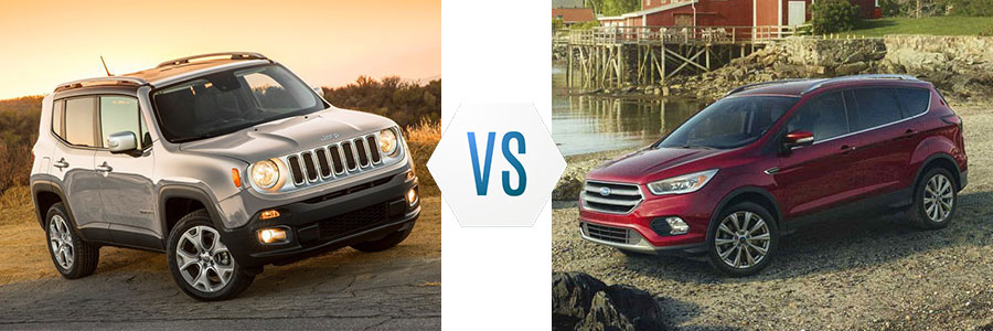 2018 Jeep Renegade Vs Ford Escape