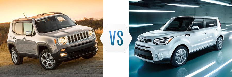 2018 Jeep Renegade vs Kia Soul
