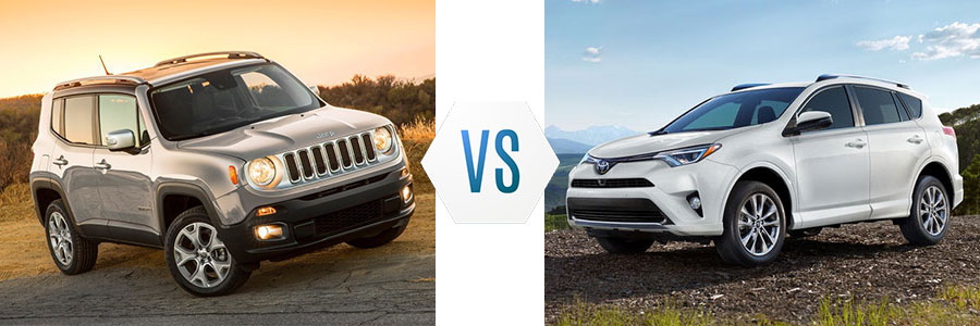 2018 Jeep Renegade vs Toyota RAV4