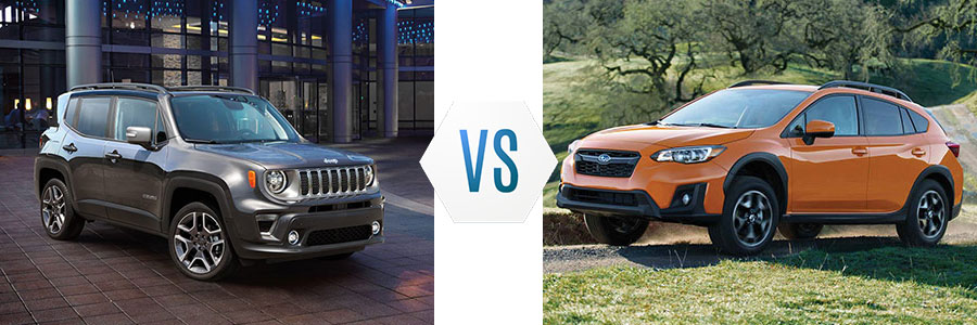 2019 Jeep Renegade vs Subaru Crosstrek