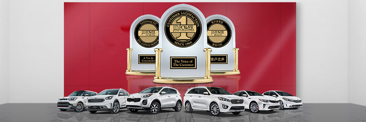 JD Power IQS: Kia Ranks #1 for the 4th Year
