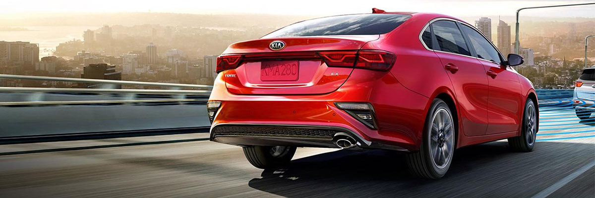 2019 Kia Forte on the Road