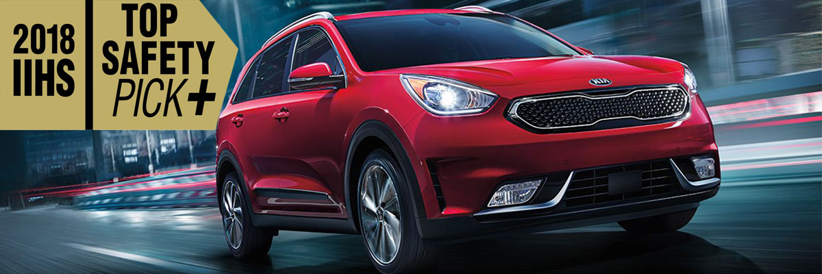 2018 Kia Niro Earns IIHS Top Safety Pick+