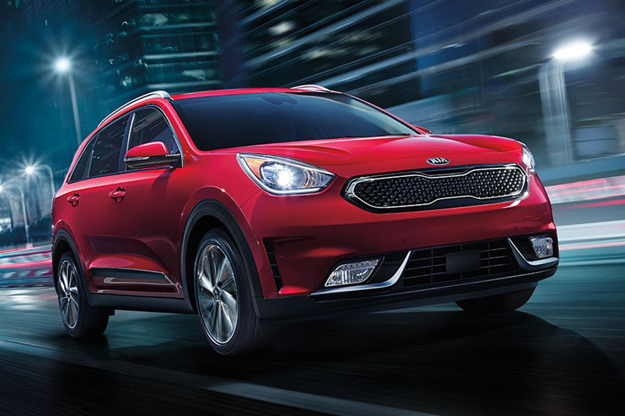 2019 Kia Niro on the Road