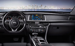 2017 Kia Optima Streamlined Console