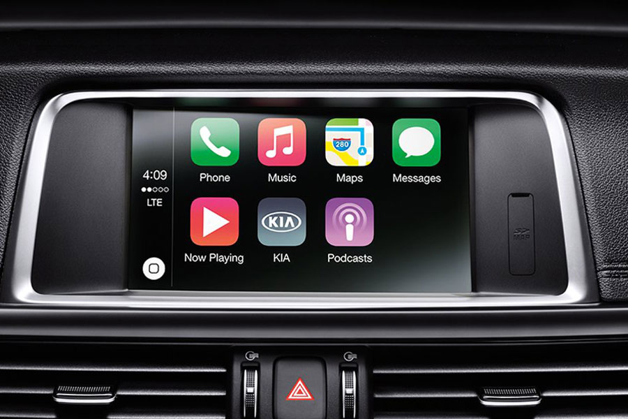 2019 Kia Optima Hybrid Infotainment