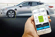 2017 Kia Optima Plug-In UVO eco App