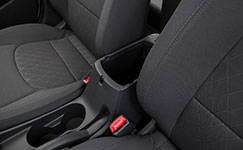 2017 Kia Rio Two-Toned Seats