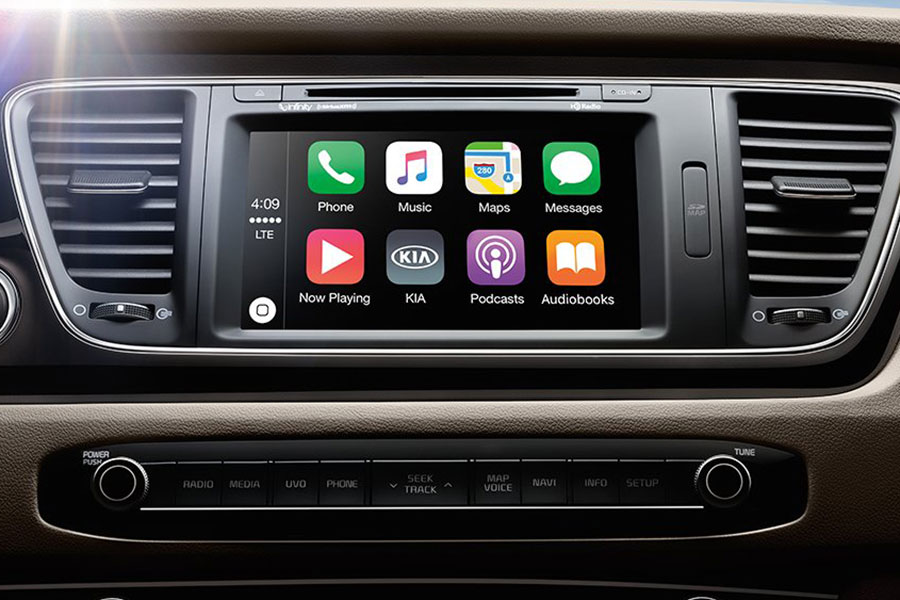 Kia entertainment system