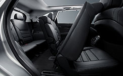 2018 Kia Sorento Second Row Split Seats