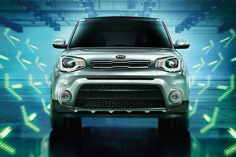Used Kia Soul on the Road