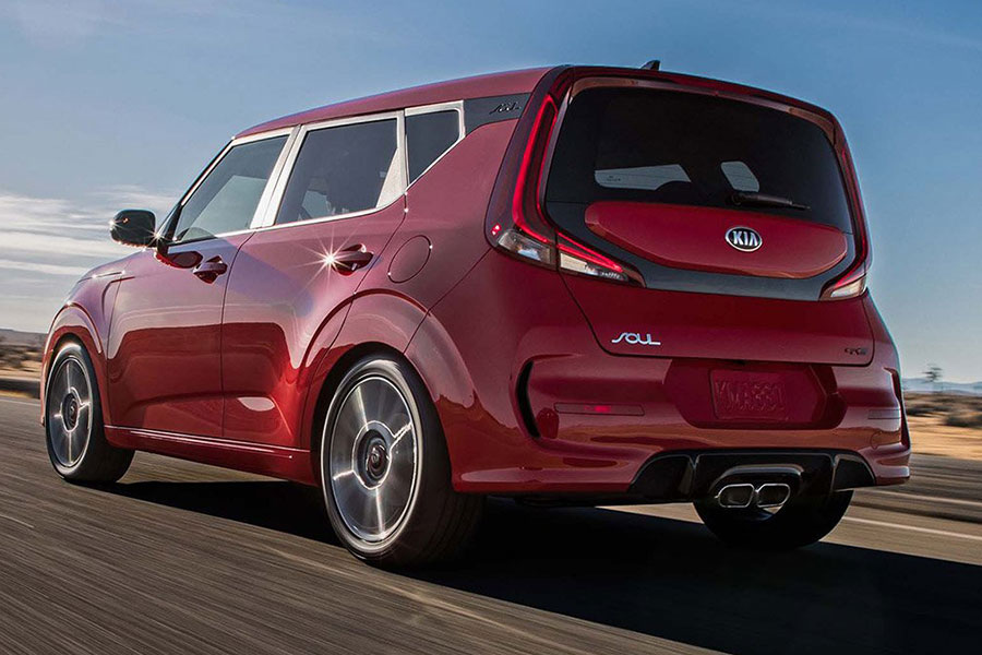 2020 Kia Soul on the Road