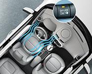 2017 Kia Soul EV Driver-Only Climate Control