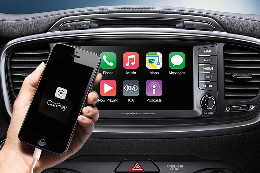 2019 Kia Sportage Apple Car Play
