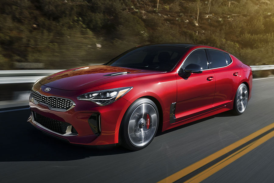 2019 Kia Stinger on the Road